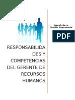 Responsabilidades y Competencias Del Encargado de La Gestion de Capital