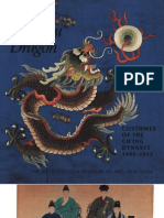 The Manchu Dragon Costumes of the Ching Dynasty 1644 1912
