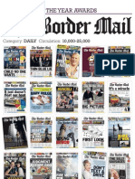 PANPA 2013 Entry - The Border Mail