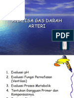 Analisa Gas Darah Arteri