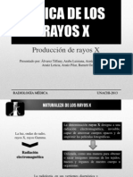 FÍSICA DE LOS RAYOS X..