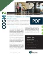 Predictive Response to Combat Retail Shrink