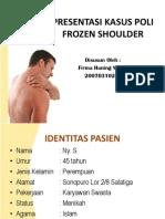 Ppt Presus Frozen Shoulder