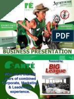 Sante_Business_Presentation