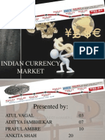 Indian Currency Market Ppt