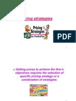 Pricing Strategies New
