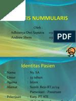 KASMAN Keratitis Nummularis (Adhisetya DS.