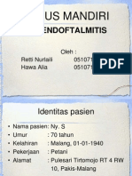 KASMAN Endoftalmitis (Retti N.