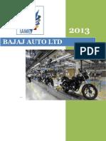 Bajaj Auto Ltd. 2013