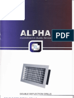 Alpha Double Deflection Grills