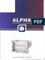 Alpha Volume Control Dempers