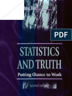 Statistics and Truth CRRao