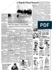 Study Tells Cedar Rapids Flood Hazard - 1967 Gazette