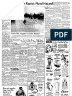 Study Tells Cedar Rapids Flood Hazard - 1967 Gazette
