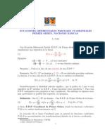 Apuntes EDP Cuasilineales