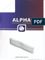 Alpha Linear Bar Grills
