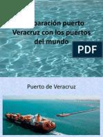 Comparación puerto Veracruz con los puertos del mundo