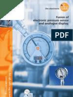 PG Pressure Sensor Brochure UK