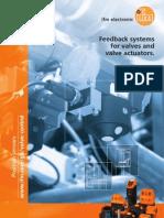 Valve Control Sensor Brochure UK