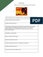 The Namesake Worksheet