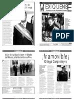 Versión impresa del periódico El mexiquense  30 agosto 2013