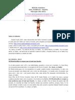vidente de Jaén (España) - Mensajes 2012