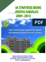 Renstra Universita Andalas 2009-2013