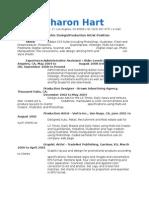 Resume Text