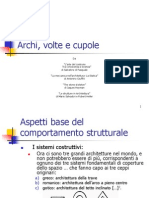 Archi,Volte e Cupole