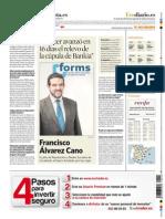 Entrevista a Francisco Álvarez Cano en El Economista