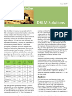 DBLM Solutions Carbon Newsletter 29 Aug