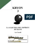 Kryon 3, la alquimia del espíritu humano