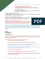Testo coordinato 192 Decreto 63 legge 90 2