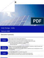 Solar Energy India Sample