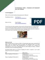 7 Matematik och naturvetenskap i tiden – freeware, bluetooth istället för miniräknare, lärobok. Kattegattgymn, Halmstad