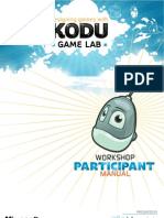 Designing Games With Kodu Game Lab - Participant Manual v2