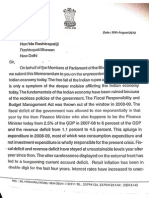 BJP Memo President 3 Pages