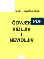 C.W.leadbeater - Covjek Vidljiv i Nevidljiv