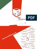 Party of European Socialists - Manifesto Book 2009