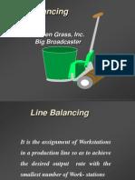 Layout Line Balancing