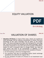 9 Equity Valuation