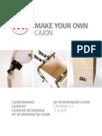 Meinl Cajon Construction Kit
