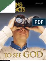 February 2002 [to See God]