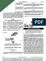 Mancomunidad Metropolitana, Estatutos Publicados Dca