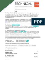 F6 Inheritance Tax Pt 2