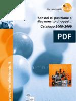 Sensori di posizione e rilevamento oggetti 2008/2009