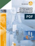 Brochure détecteurs inductif tout inox (2008)