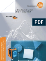 Brochure détecteurs de vision Dualis (2006)