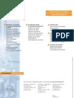 Brochure connectique pour les zones aseptiques et humides France 2008