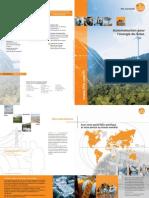 Brochure énergie renouvelable France 2011